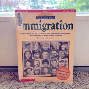 Read-Aloud Plays  IMMIGRATION book